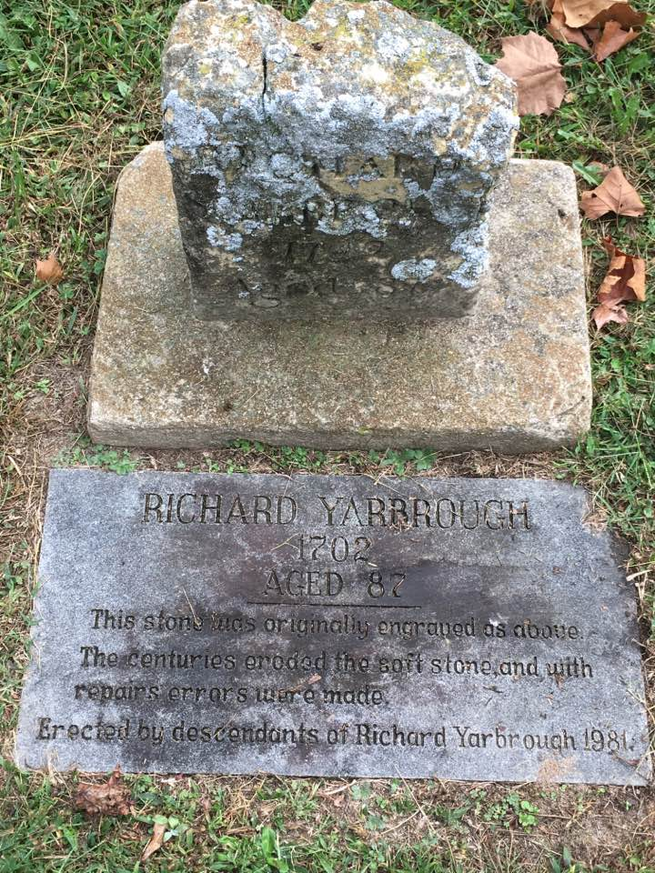 Old Richard's Grave Markers